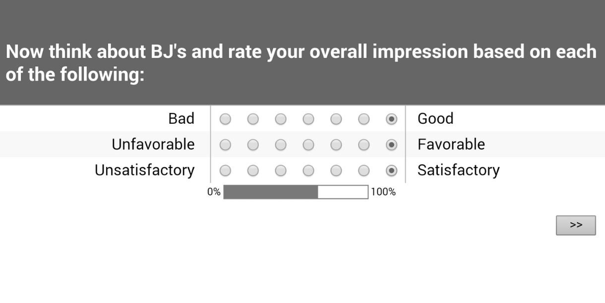 bjs survey guide