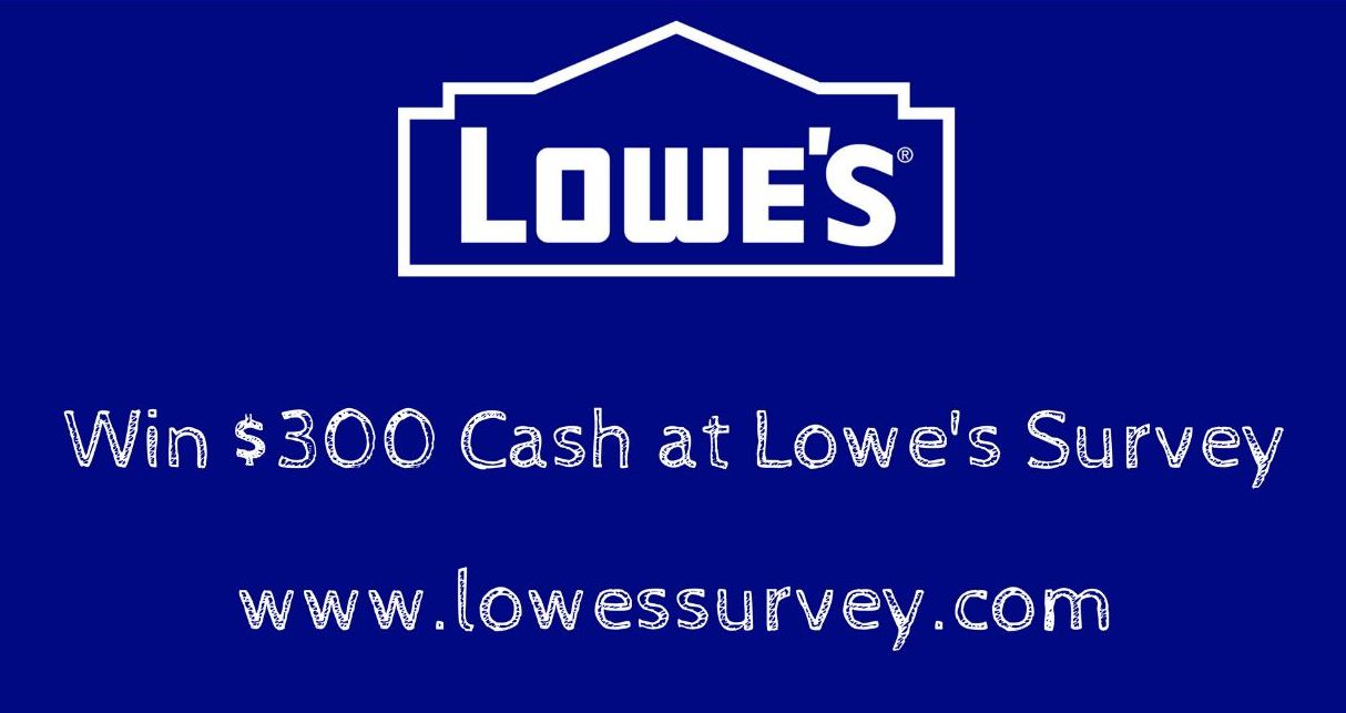 lowes survey rewards