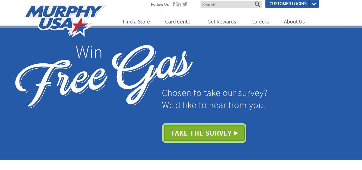 murphy usa customer satisfaction survey enter