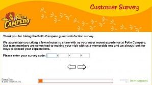 pollo campora survey codes