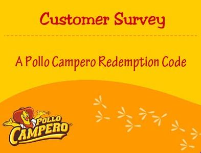 pollo campora survey rewards