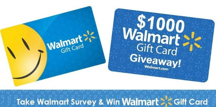 walmart survey rewards