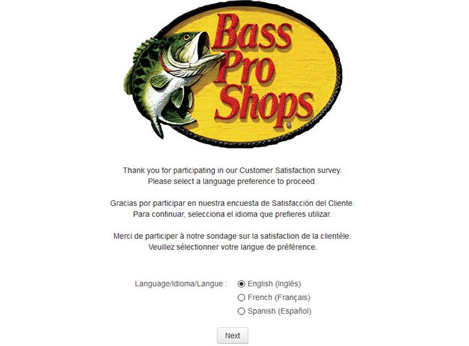 Basspro Survey