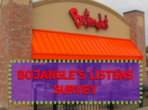 Bojangles Survey feedback