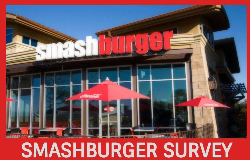 Smashburger Survey steps