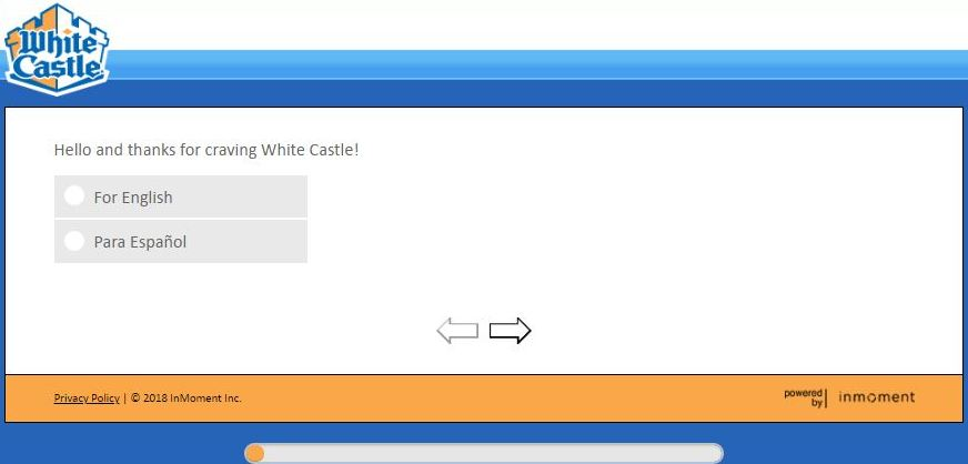 White Castle Survey feedback