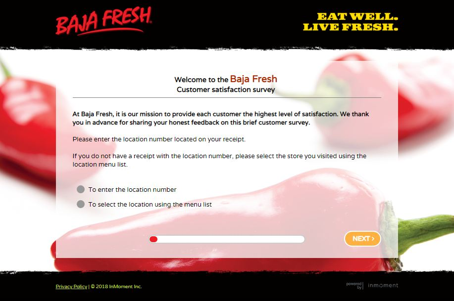 baja fresh survey