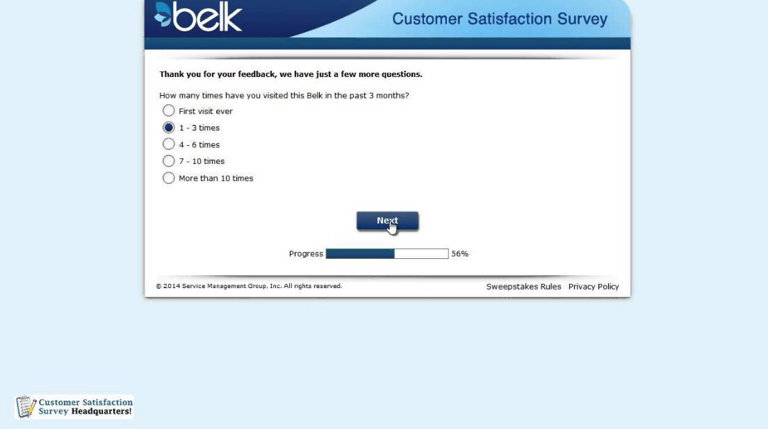 belk survey guide