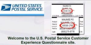 usps survey steps