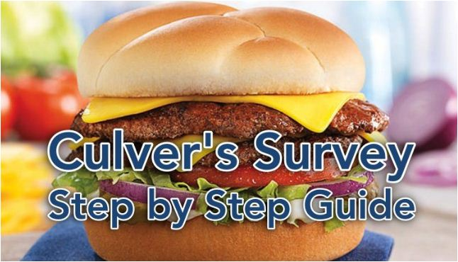 culvers customer survey