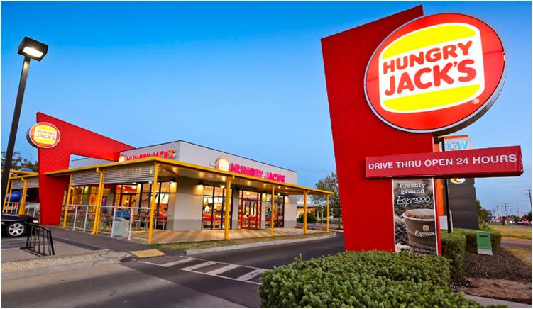 hungry jack's restaurant