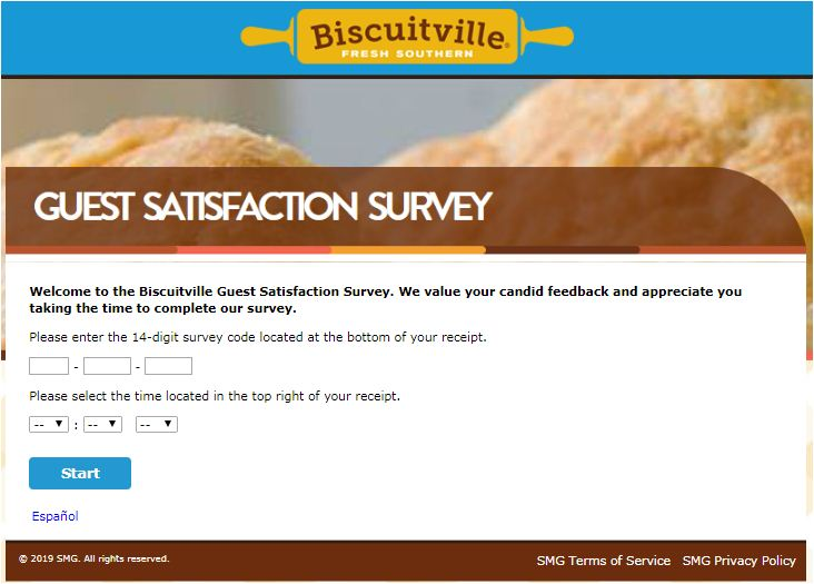 biscuitville customer experience survey