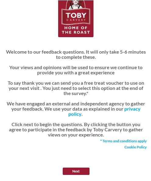 toby carvery survey