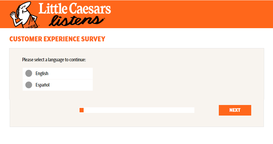 Little Caesars customer feedback Survey.